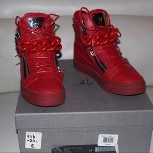 Giuseppe Zanotti Red Sneaker
